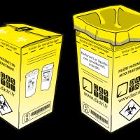 DASTRI caisse carton illustration