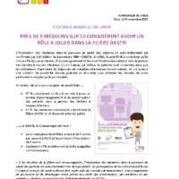CP – Sondage Ifop medecins
