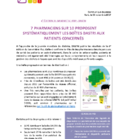 CP – Sondage Ifop pharmaciens