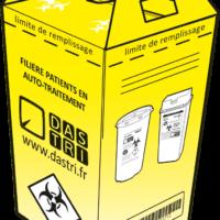 Caisse carton avec poignées