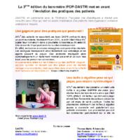CP Enquête IFOP DASTRI Patients en auto-traitement- nov 2016