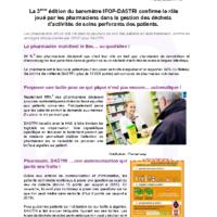 CP Enquête IFOP DASTRI Pharmaciens-nov-2016